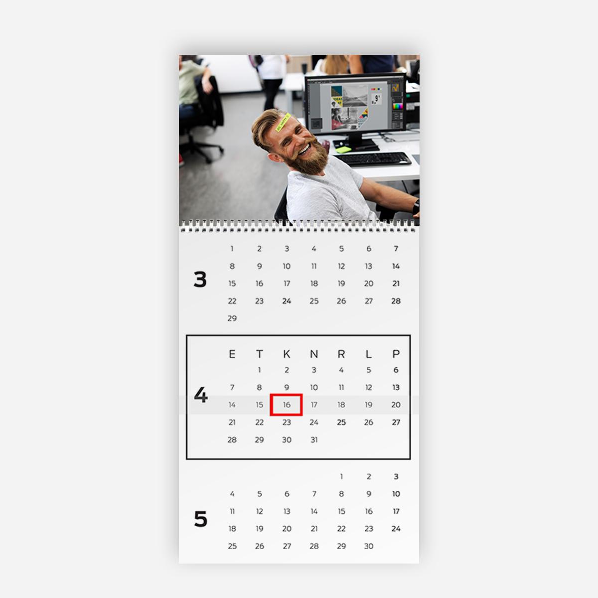 Trio Calendar